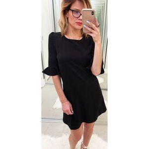 Lulu's Black Mini Dress